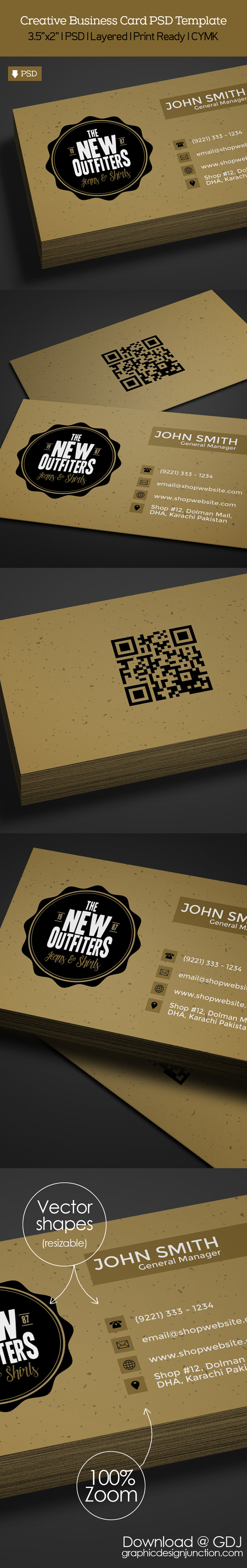 Freebie vintage business card psd template freebies graphic free vintage business card template preview reheart Images