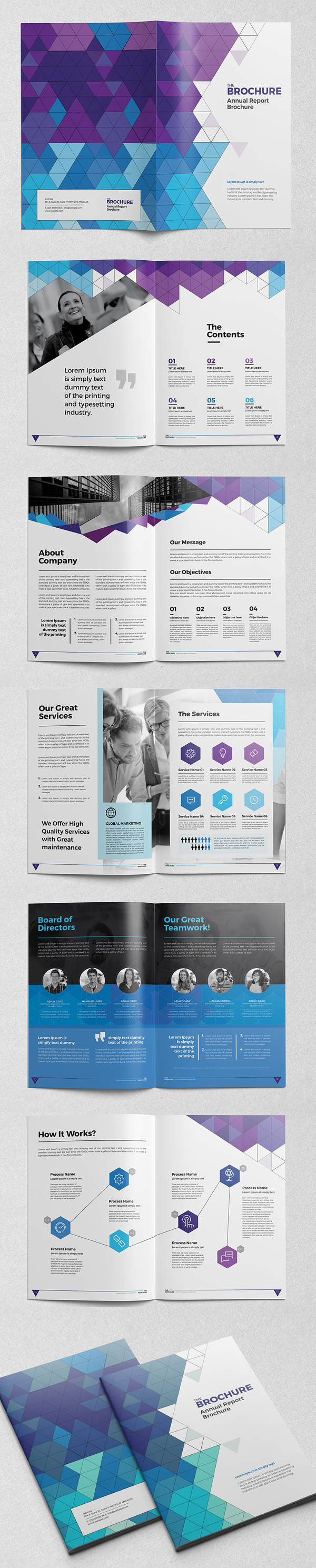 New catalog brochure design templates design graphic for Adobe brochure templates
