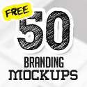 Post thumbnail of 50+ Free Branding / Identity & Stationery PSD Mockups