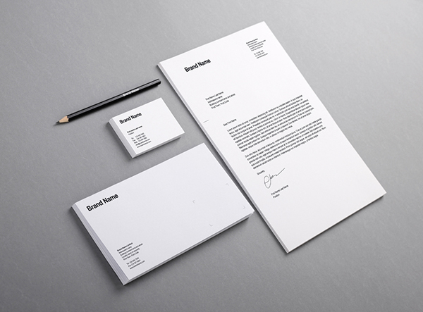 50+ free branding / identity & stationery psd mockups | freebies, Presentation templates