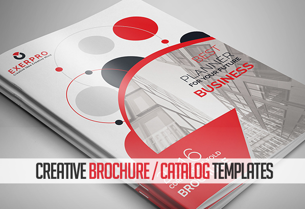 creative brochure template new catalog brochure design templates design graphic