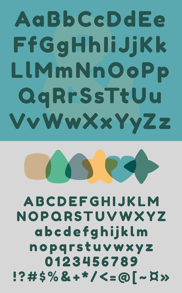 Fredoka fonts and letters