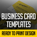 Post thumbnail of 25 Professional Business Cards Template Designs