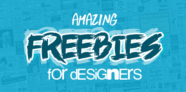 27 Amazing Freebies For Designers