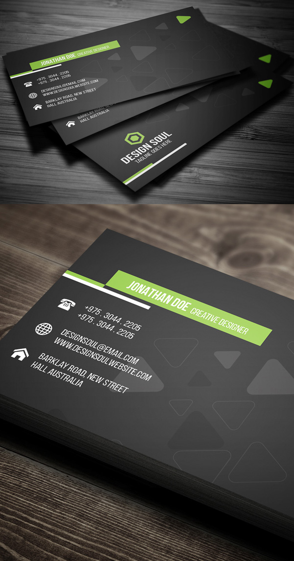 25 professional business cards template designs design graphic corporate business card design fbccfo Gallery