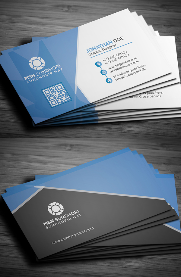 25 professional business cards template designs design for Business card designs templates