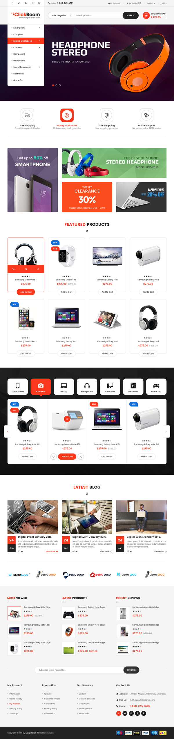 ClickBoom - WooCommerce WordPress Digital Store Theme