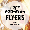 Post thumbnail of Free and Premium Flyers with Style