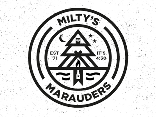 Milty's Marauders Badge by Zach Arvidson