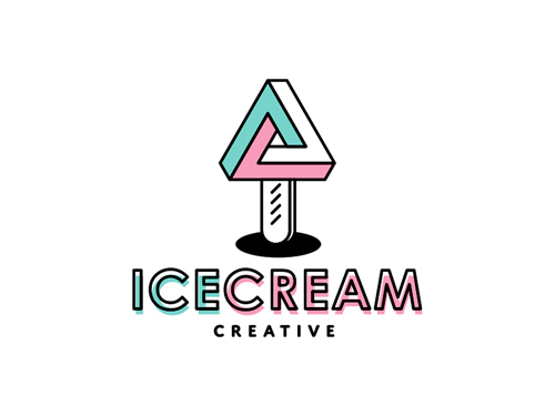 Ice Cream Logo by GraphicDealer