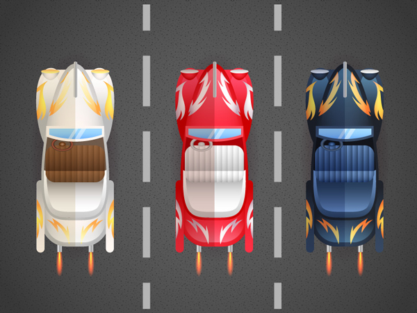 How to Create a Bird's-Eye View of Retro Cars in Adobe Illustrator