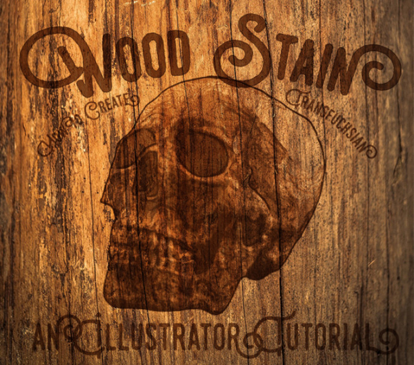 How to Create a Stained Wood Effect in Illustrato