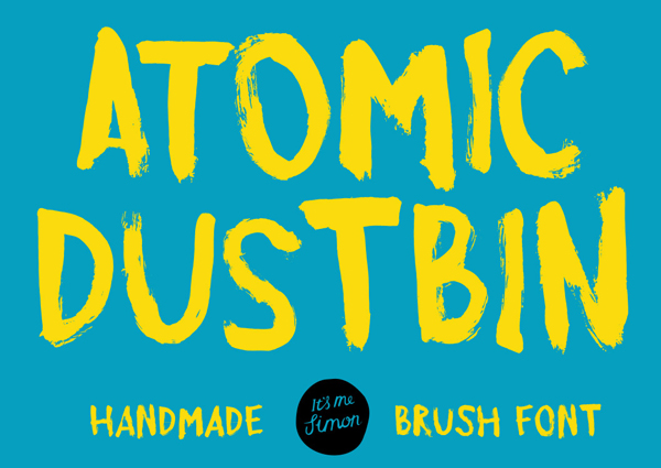Atomic Dustbin free fonts