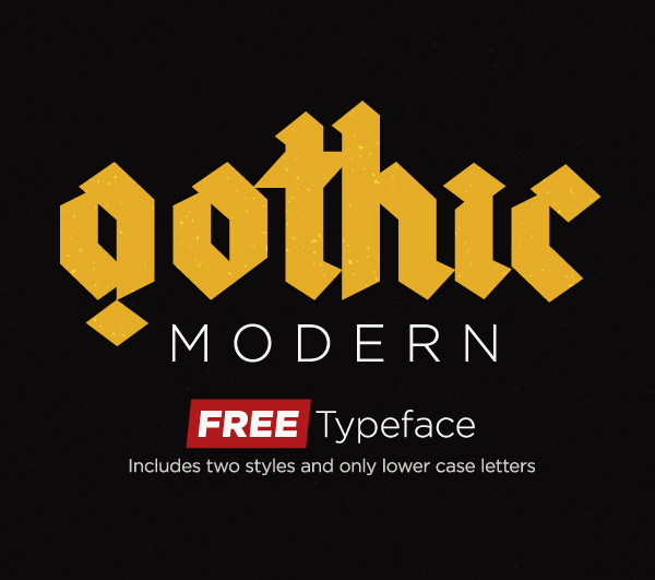 Gothic free fonts