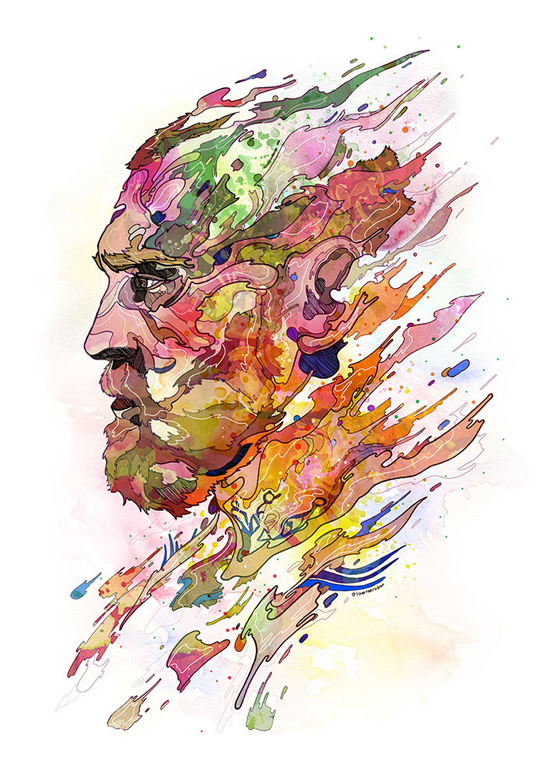 Superb Colorful Illustrations by Phil Dunne - 10