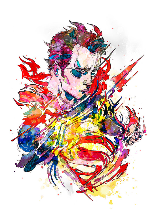 Superb Colorful Illustrations by Phil Dunne - 17