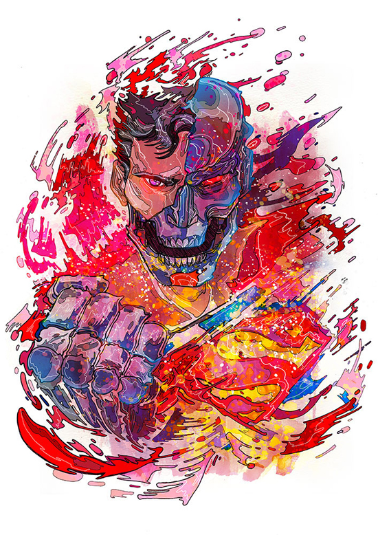 Superb Colorful Illustrations by Phil Dunne - 6