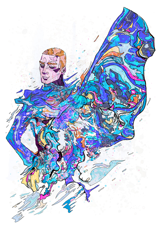 Superb Colorful Illustrations by Phil Dunne - 7