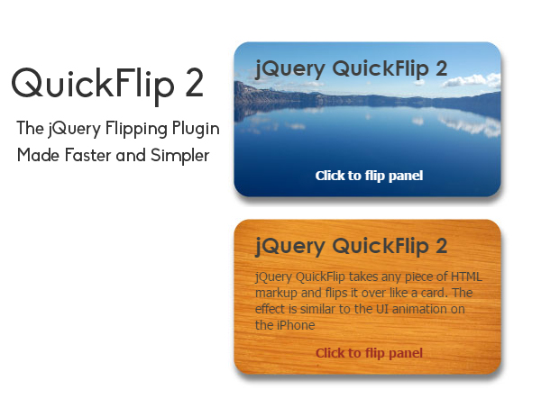 QuickFlip 2 jQuery Plugin
