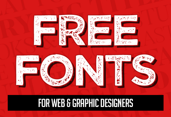 20 New Superb Free Fonts For Designers