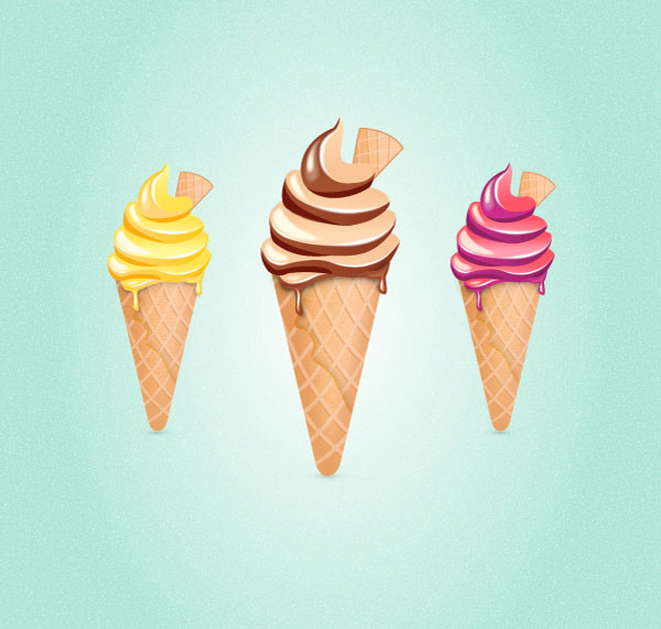 How to Create an Ice Cream Cone in Adobe Illustrator