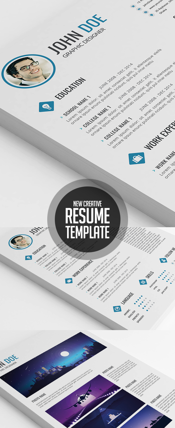 Creative and Versatile Resume Template