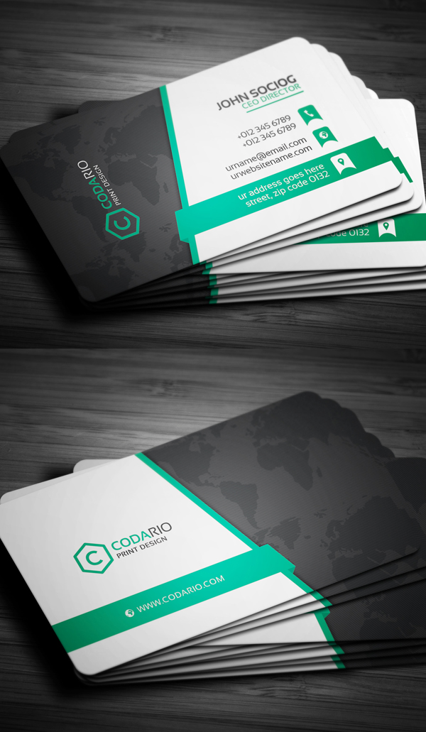 Creative Business Card PSD Templates: 26 New Design | Design ...