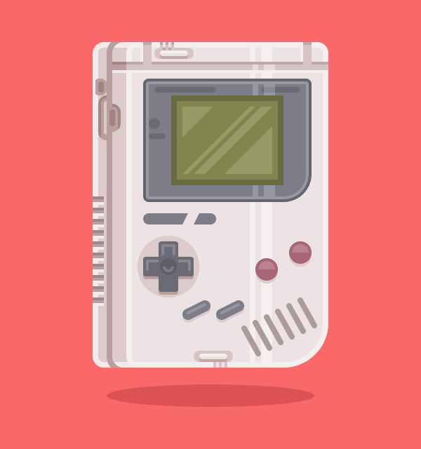 How to Create a Game Boy Illustration Using Adobe Illustrator