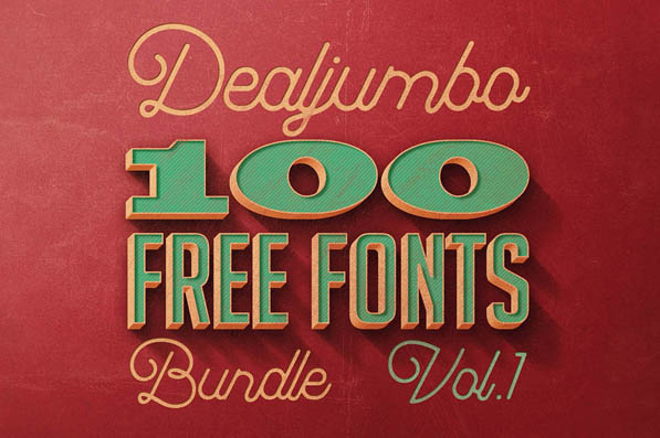 100 Amazing Custom Fonts Free for Commercial Use