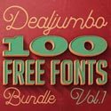 Post Thumbnail of 100 Amazing Custom Fonts Free for Commercial Use