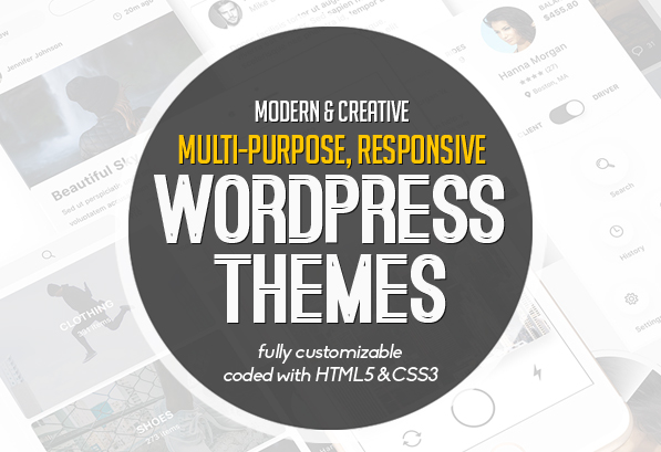 20+ Modern & Creative Responsive WordPress Themes 2016
