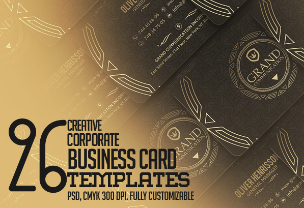 Creative business card psd templates 26 new design design creative business card psd templates 26 new design colourmoves