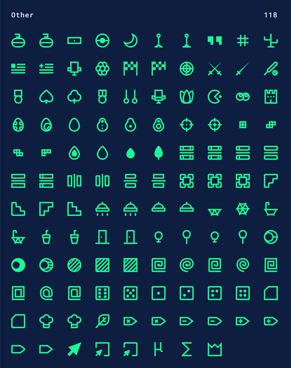 Free Minimal Vector Icon Pack -12
