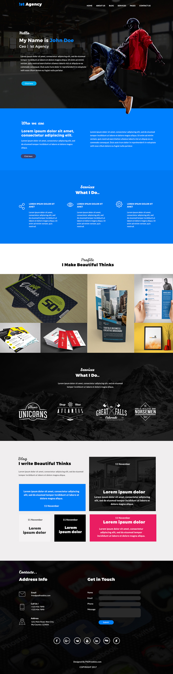 Web Templates 25 Professional Free Psd Templates Freebies