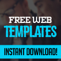 Post thumbnail of Web Templates – 25 Professional Free PSD Templates