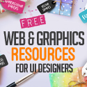 36 Free Web & Graphic Design Resources for UI Designers