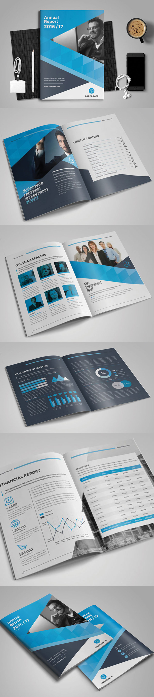 100 Professional Corporate Brochure Templates - 6