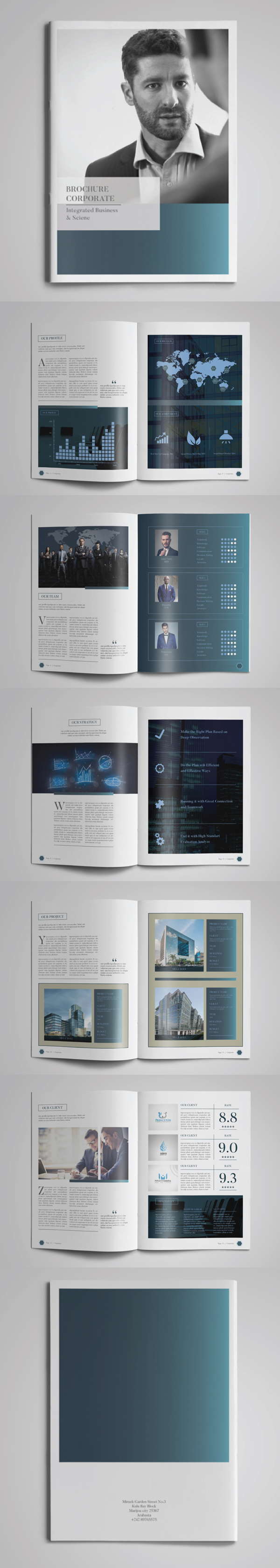 Multipurpose Brochure Corporate Template