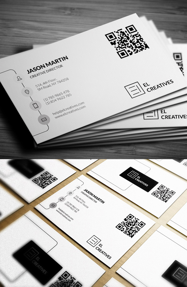 Creative Corporate Business Card PSD Template