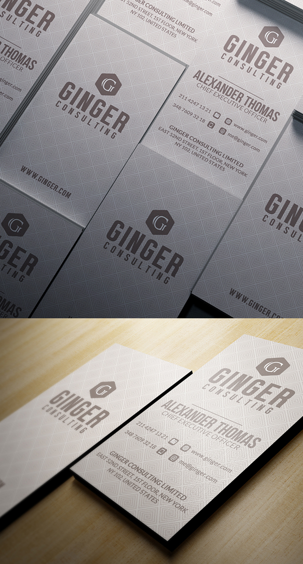 Elegant Business Card Design