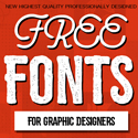 21 New Free Fonts for Graphic Designers