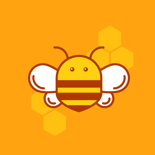 How to Draw Sunny Bee in Adobe Illustrator