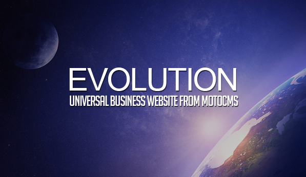 Evolution – Universal Business Website from MotoCMS