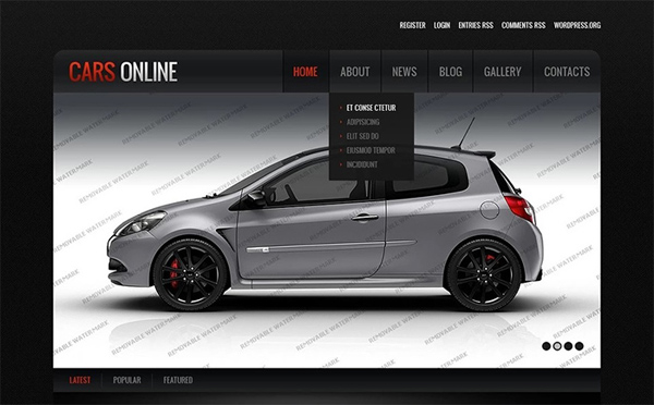 Auto Repair Service WordPress Theme