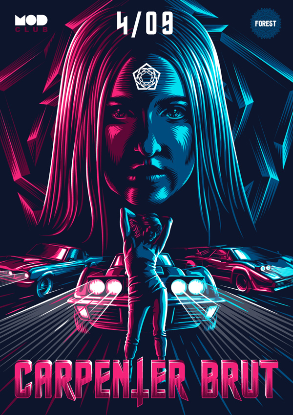 Carpenter Brut Poster