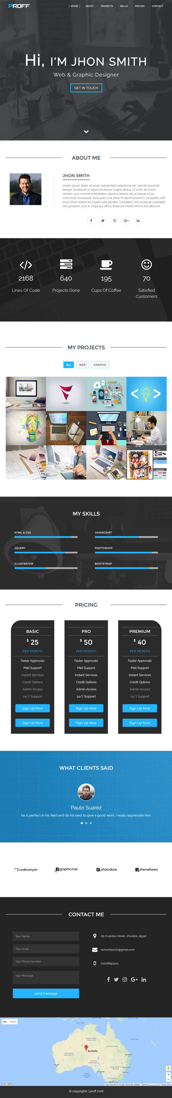 HTML5 Website Templates (PSD & HTML) | Design | Graphic Design Junction
