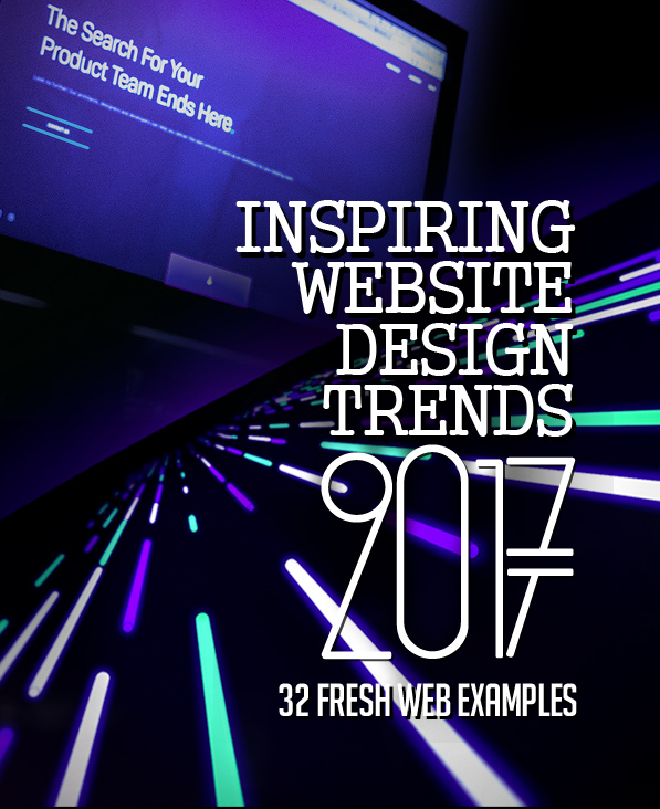 32 New Trend Website Design Examples
