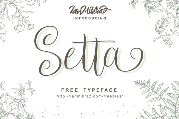 50 Best Free Fonts For 2017 - 32