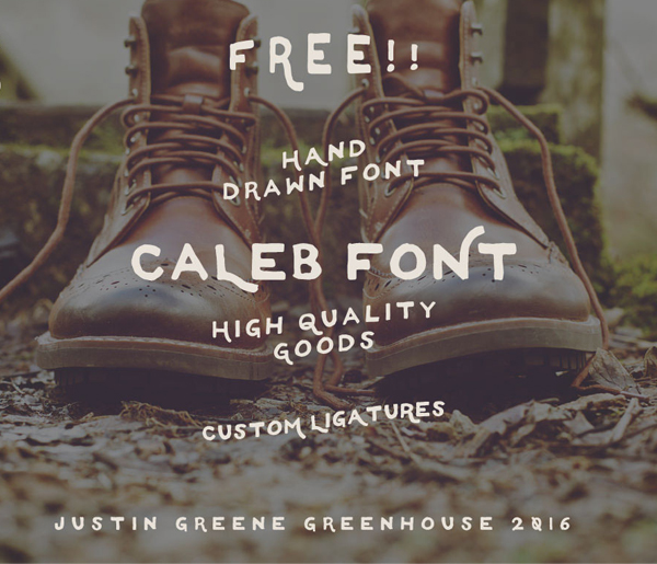 50 Best Free Fonts For 2017 - 36