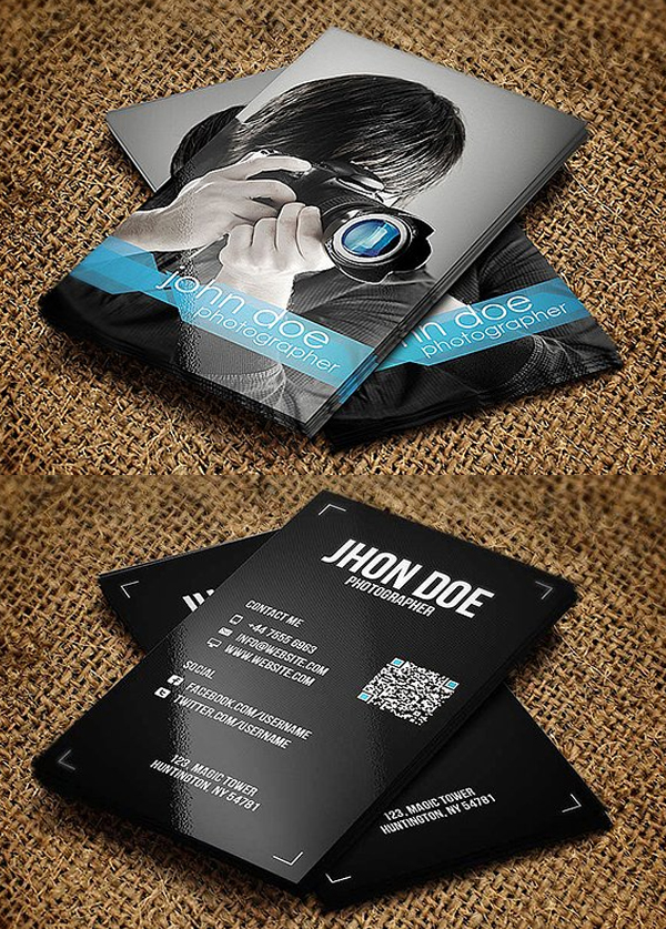 25 new modern business card templates print ready design design photographer business card template fbccfo Images
